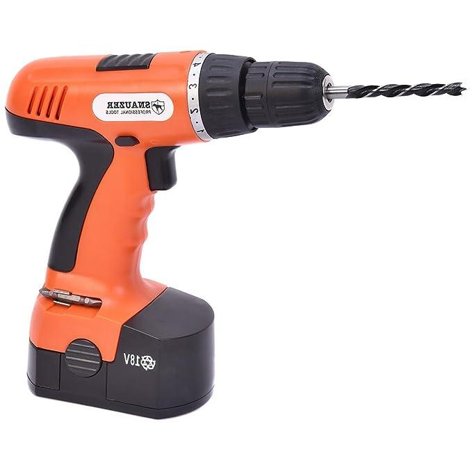 Amazon.com: 78-piece 18 V 110 V Cordless Drill Set Trabajos ...