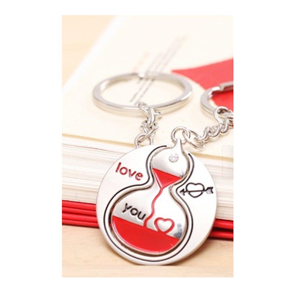 Cute Couple Keychain Love Keychain Key Ring
