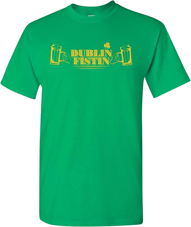 Dublin Fistin - St Patrick's Day Drinking Irish T Shirt