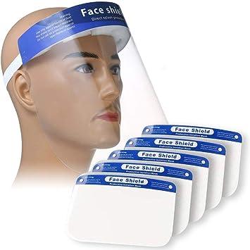 Full Face Shield Clear Cover Visor Glasses Eye Protect industry Dental