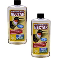 First Nature 2 Ea 16 Oz Clear Hummingbird Nectar Concentrate 3052