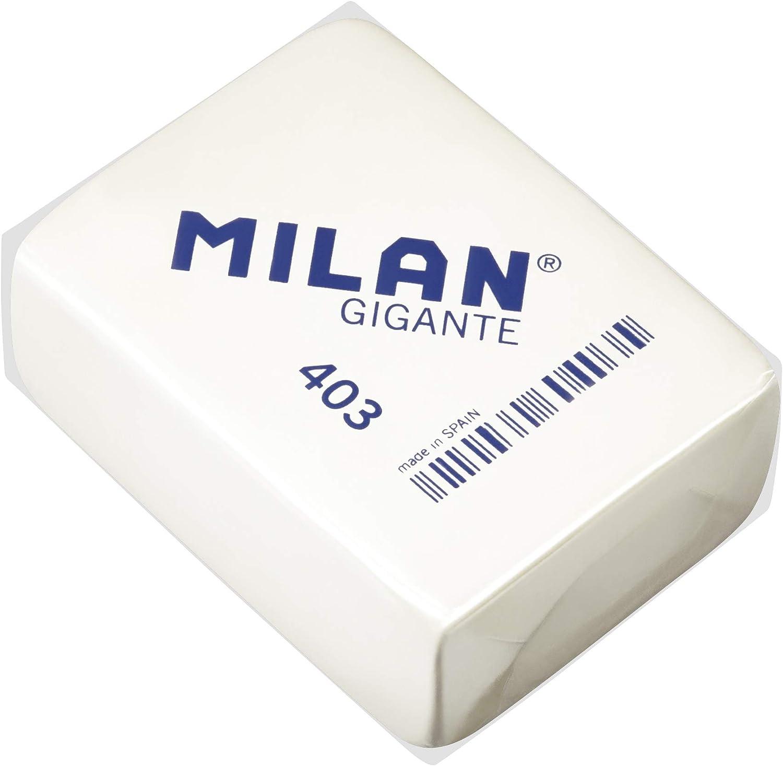 Milan 403 - Goma de borrar, 3 unidades: Amazon.es: Oficina y papelería