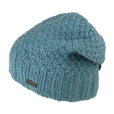 cc853c4483e5d0 Kusan Hats Button Down Beanie Hat - Aqua 1-Size: Amazon.co.uk: Clothing
