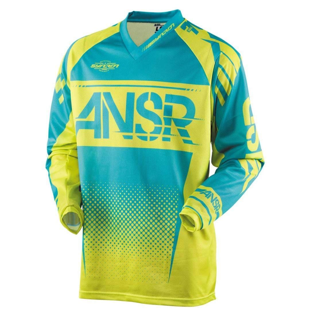 Answer Racing A17.5 Syncron Air Boys Off-Road Motorcycle Jerseys Yellow//Blue//Small