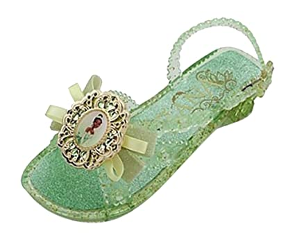 4245d3004a50 Image Unavailable. Image not available for. Color: Disney Store Princess  Tiana Light Up Shoes Costume Slippers Size 11/12