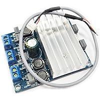 HiLetgo TDA7492 2*50W D Class High Power Digital Amplifier Board AMP with Radiator 10-26V