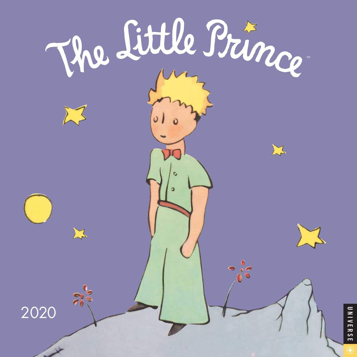 Prince Calendar 2020 The Little Prince 2020 Wall Calendar: Antoine de Saint Exupery