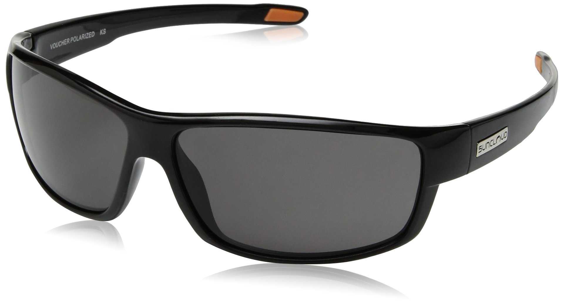 Suncloud Optics Voucher Injected Frames Polarized Outdoor Sunglasses - Black/Gray by Suncloud