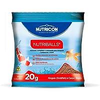 Nutriballs 20gr Nutricon Para Peixe Tropical Todas As Fases