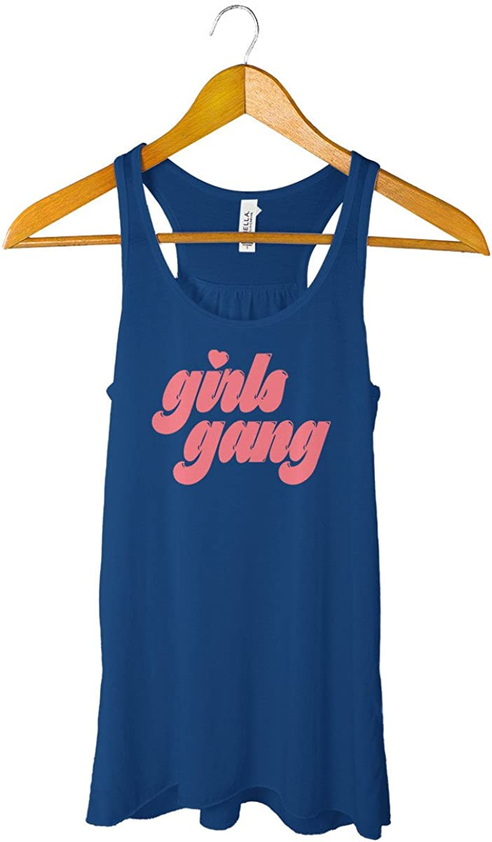 Feminist Power Girl Gang Girls Can Determined  Womens Vest Tank Top Woman Up