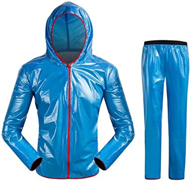 Deylaying Hombres Mujer Ciclismo Impermeable Bicicleta Al Aire ...