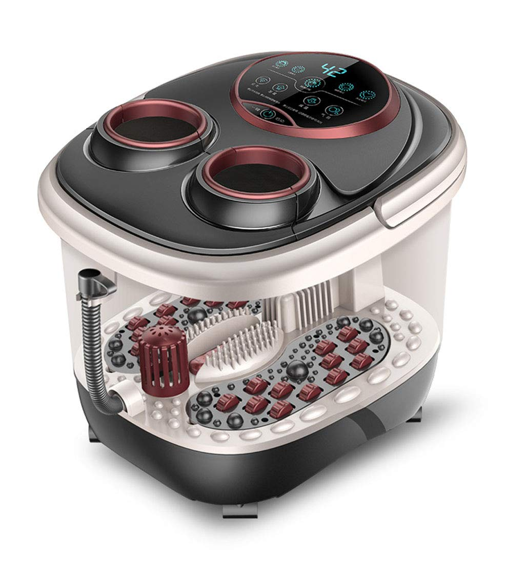Foot tub, Fully Automatic Heated Massage Foot Massager Foot Bath Electric Massage DAFREW factory