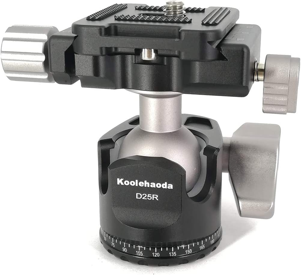 koolehaoda Leveler with Bubble Level LP-64 for Tripod 3//8 Mounting Screw 3 Adjustment Dials for Camera Tripod