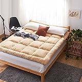 hxxxy Futon mattress topper Tatami floor mat,Dormitory folding mat Japanese bed-A 90x200cm(35x79inch)