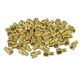 uxcell® 50 Pcs Brass PCB Standoffs Hexagonal