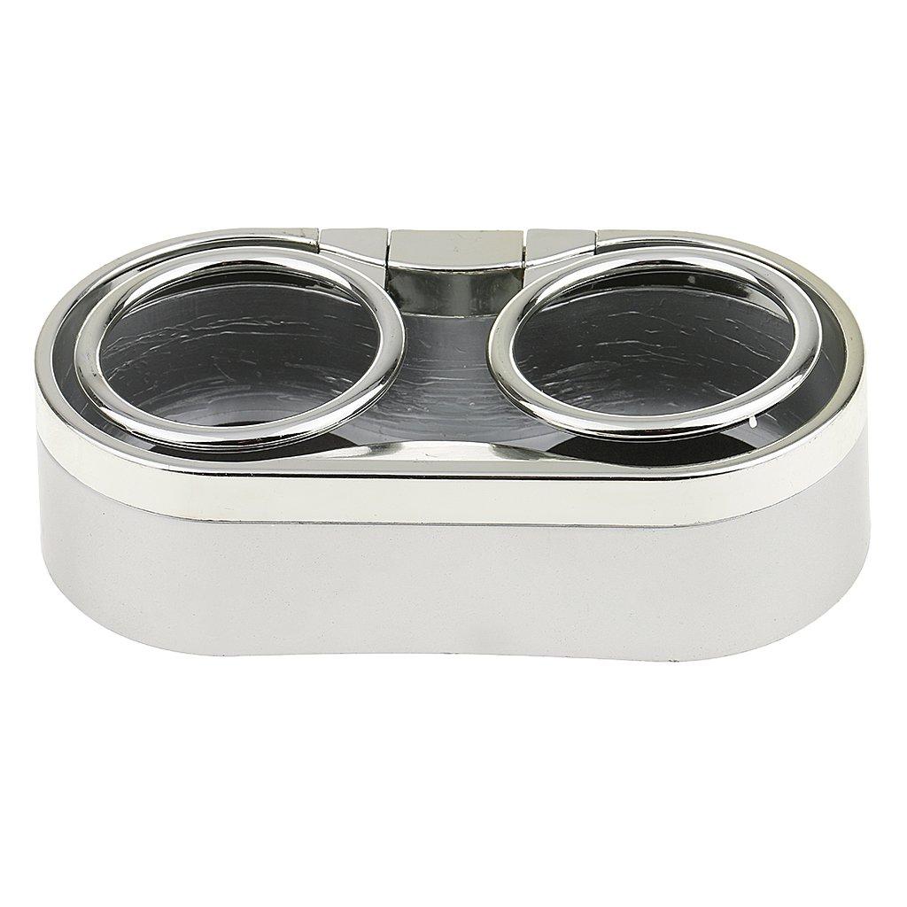 Silber MagiDeal Auto Getr/änk Flasche Dual Cup Getr/änkehalter Flaschenhalter