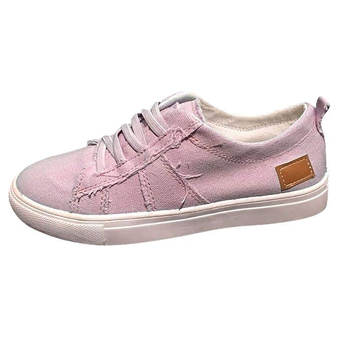 Zapatos Mujer Planas,VECDY2019 Moda Zapatillas Zapatos De ...