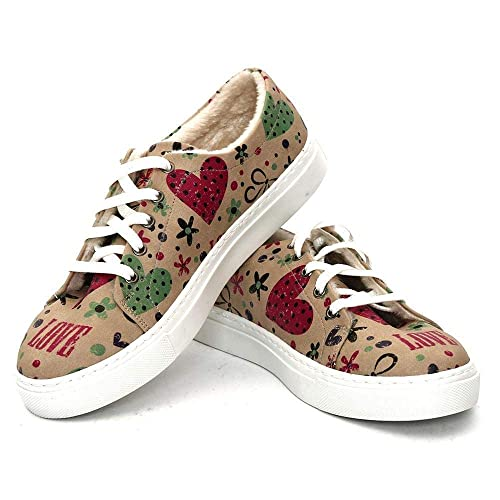 fffc83eefa74 Goby Love Slip on Sneakers Shoes SPR110  Amazon.co.uk  Shoes   Bags