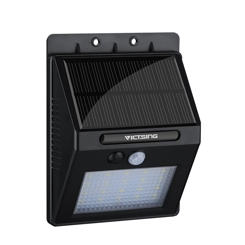 Amazon victsing 20 led solar motion sensor lights super amazon victsing 20 led solar motion sensor lights super bright wireless waterproof outdoor wall light for path porch deck driveway stairs aloadofball Image collections