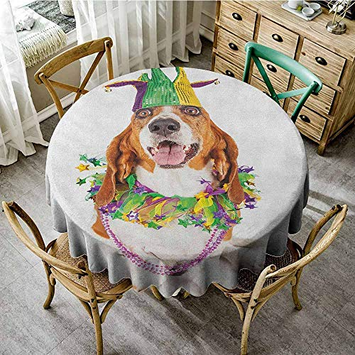 - Rank-T wipeable Round Tablecloth 63