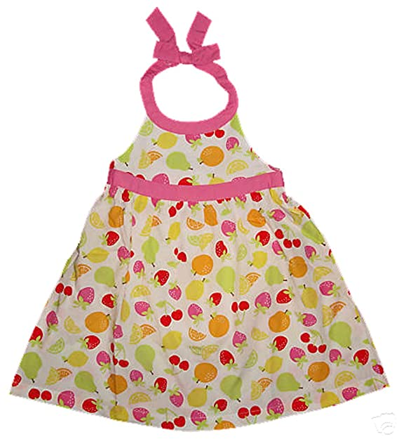 Amazon.com: Gymboree Baby Girls Berry dulce blanco fruta ...