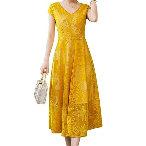 autentico d98b0 d46a7 WLM Gonna larga donna/abito in chiffon/vestito da banchetto ...