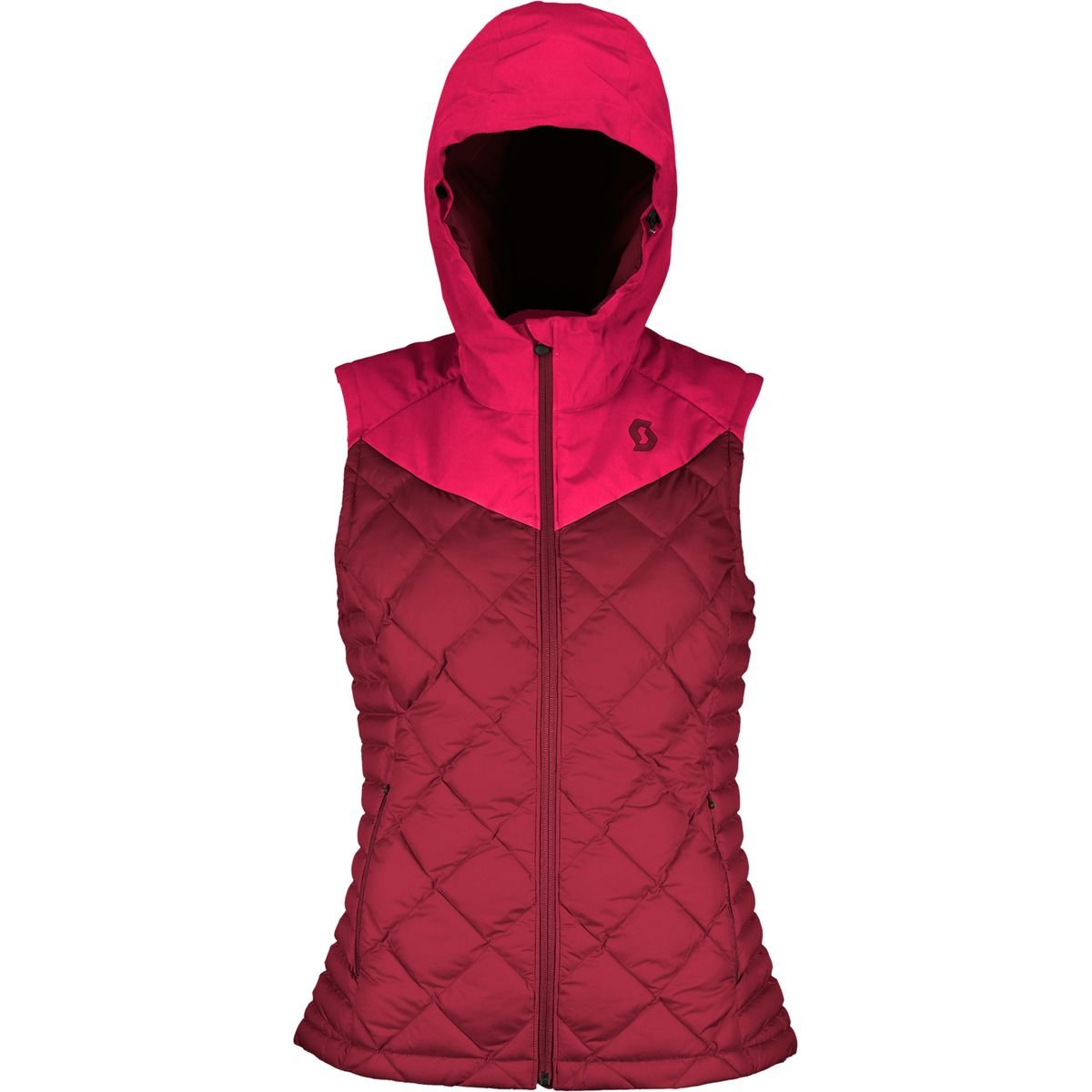 Scott Insuloft 3M Vest - Women's Ruby Red/Mahogany Red, US XL/EU XXL