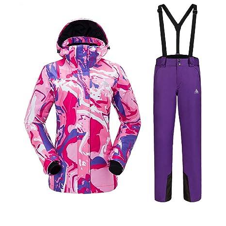 Yishelle Traje de esquí de Las señoras Traje de esquí Traje ...