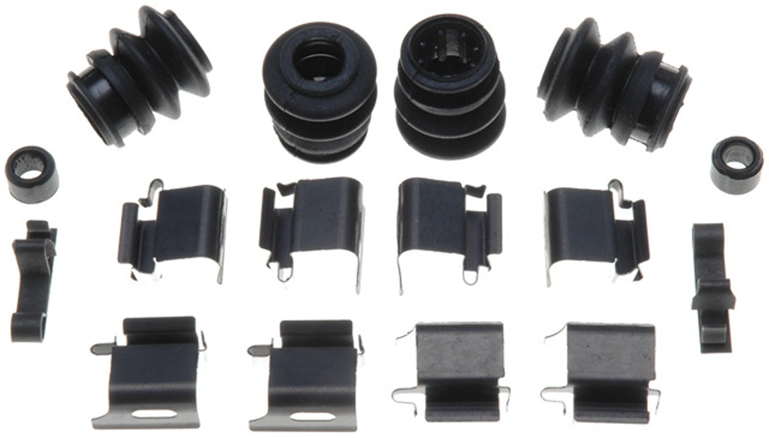 ACDelco 18K1667X Professional Front Disc Brake Caliper Hardware Kit with Clips, Seals, and Bushings by ACDelco
