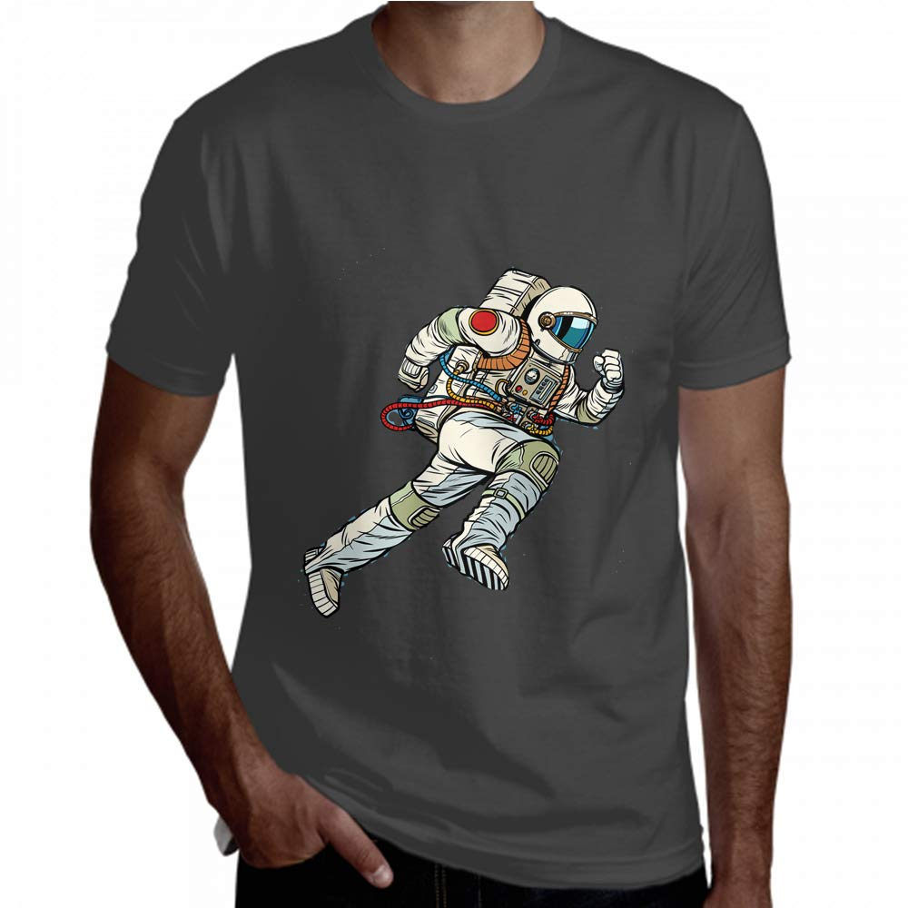 tee Shirt Magical Space Astronaut Charming Brave T-Shirt Men Tee