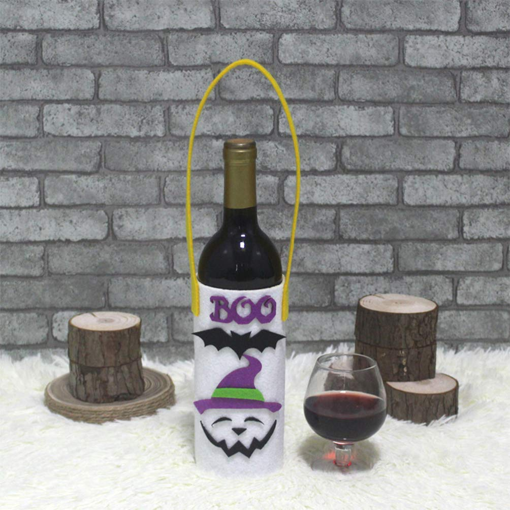 LIOOBO - Botella de Vino Tinto Caricatura portátil y Divertida, 2 ...