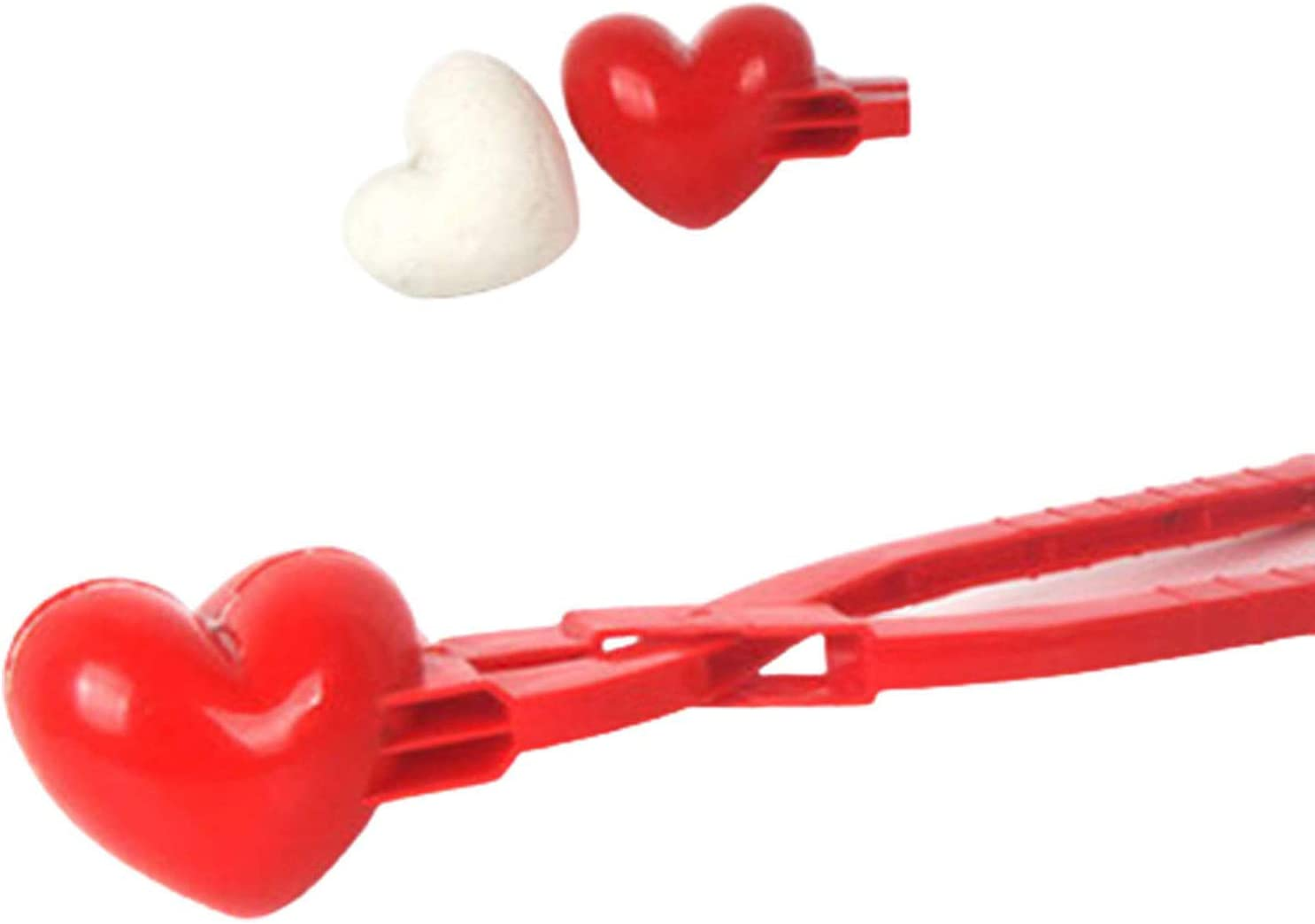 Snow Toys for Kids and Adults Winter Outdoor Play metiet Snowball Maker Clip Heart Shaped Snowball Maker Animal Shaped Snow Sand Mold Tool