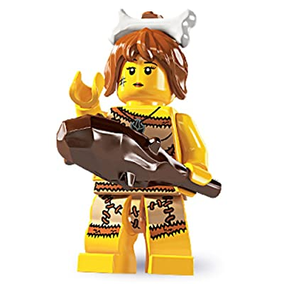 Lego Series 5 Cave Woman Mini Figure: Toys & Games