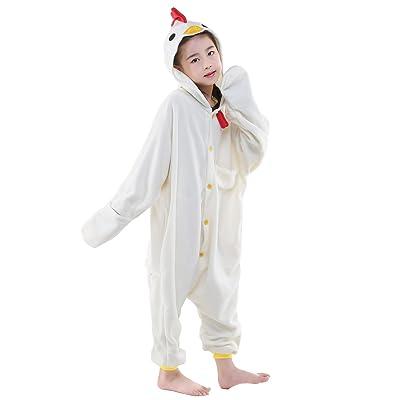 CANASOUR Christmas Animal Costumes Anime Cosplay Kids One Piece Pajamas: Clothing
