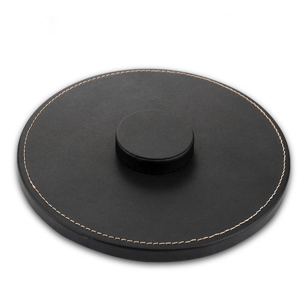 Xihama per Apple speaker supporto di base.Portable vera pelle tappetino antiscivolo Protezione Pad per Apple Homepod altoparlanti