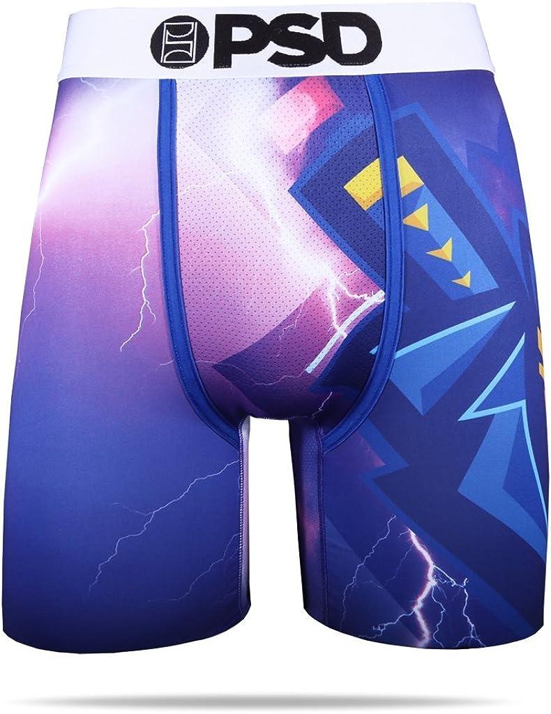 PSD Men's Esports Ninja-Storm Athletic Boxer Brief, Purple