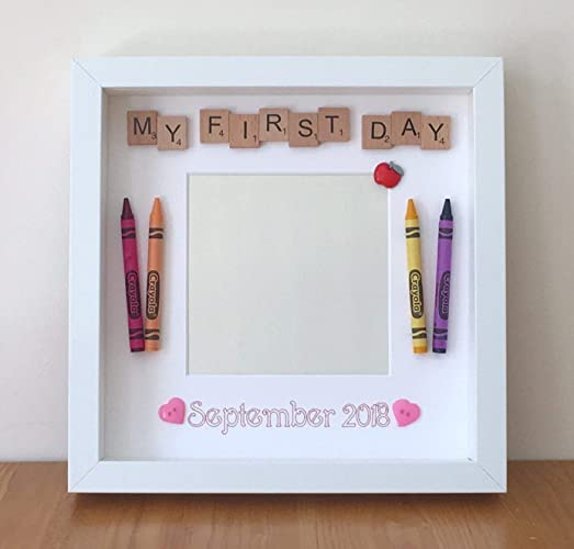 Personalised First Day at School Photo Frame First Day at Nursery ...