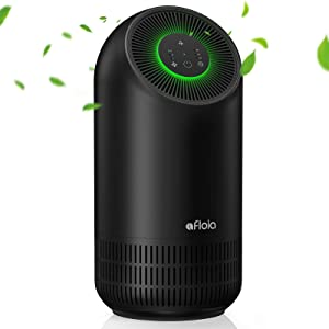 Air Purifier For Home  H13 True Hepa Filte 24Db Quiet 220 ft² 3-Stage Filtration Air Purifies Whisper   Air Cleaner Remove 99.99% Pet Odors Dust Pollen Smoke Household Mold   Optional Night Light
