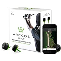 Arccos Golf Real-Time GPS and Golf Stat Tracking System (14-Sensor Pack) by Arccos Golf