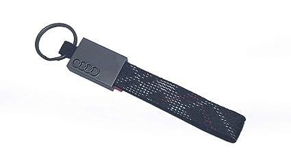 SMD Llavero Tela Trenzada Compatible con Audi
