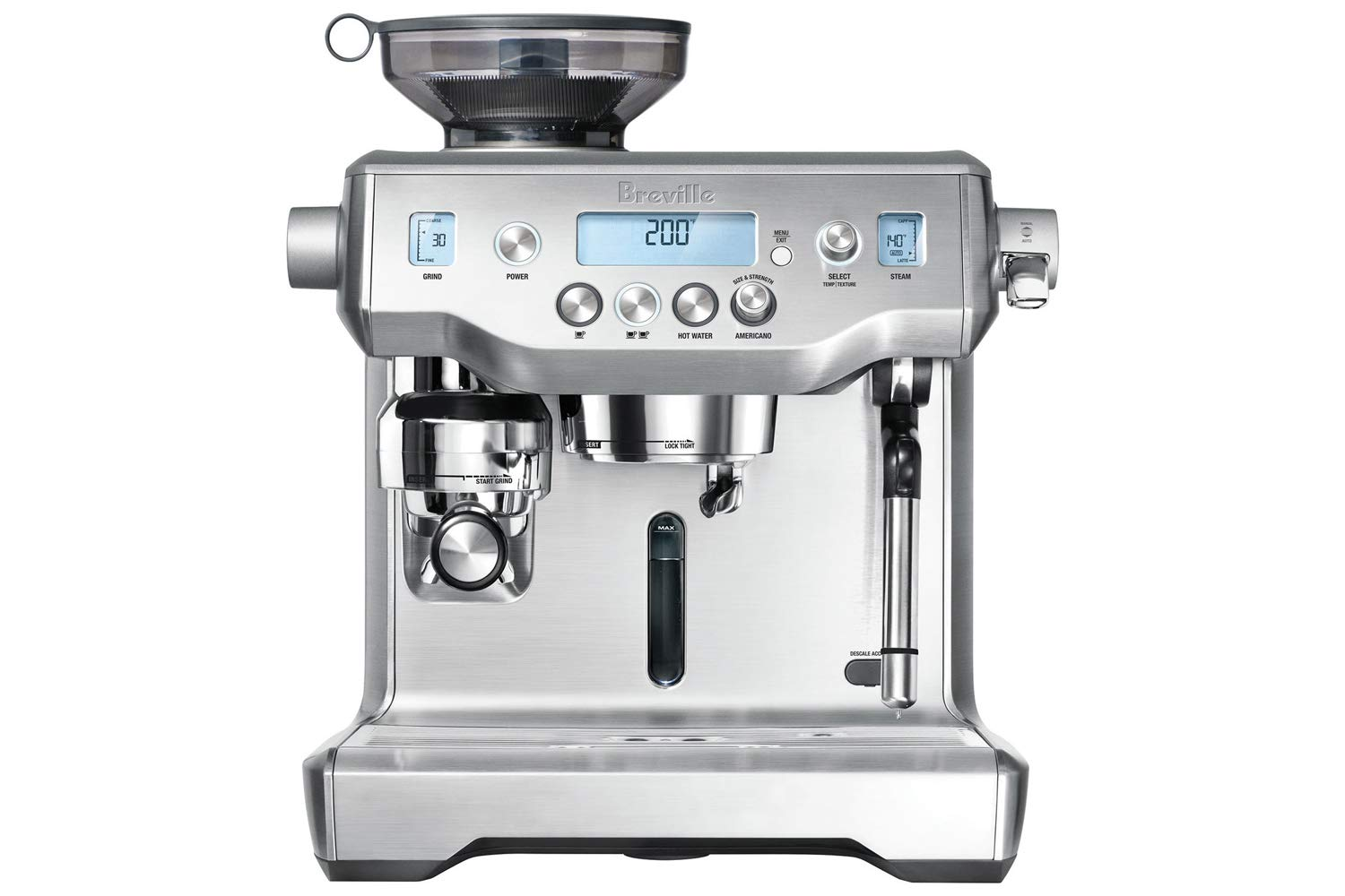 Breville BES980XL Oracle Espresso Machine, Brushed Stainless Steel by Breville