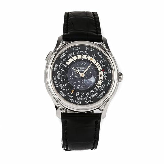 PATEK PHILIPPE mundo tiempo luna swiss-automatic Mens Reloj 5575 G-001 (Certificado) de segunda mano: Patek Philippe: Amazon.es: Relojes