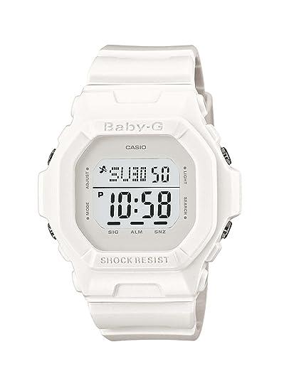 CASIO Baby-G BG-5606-7ER - Reloj Digital de Cuarzo con Correa de Resina para Mujer, Color Blanco: Casio: Amazon.es: Relojes