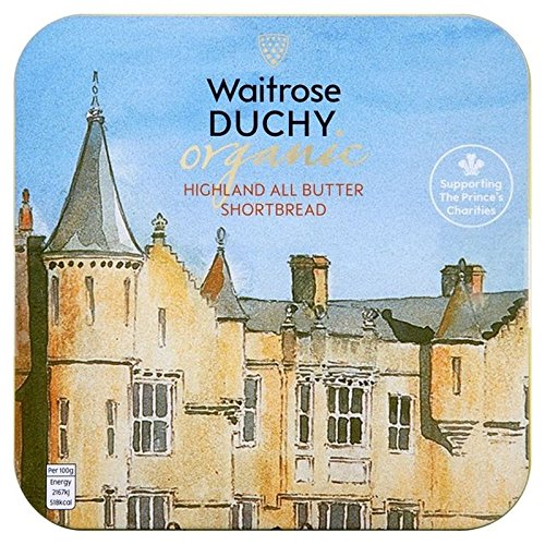Duchy Waitrose Organic Originals Shortbread Tin 300g