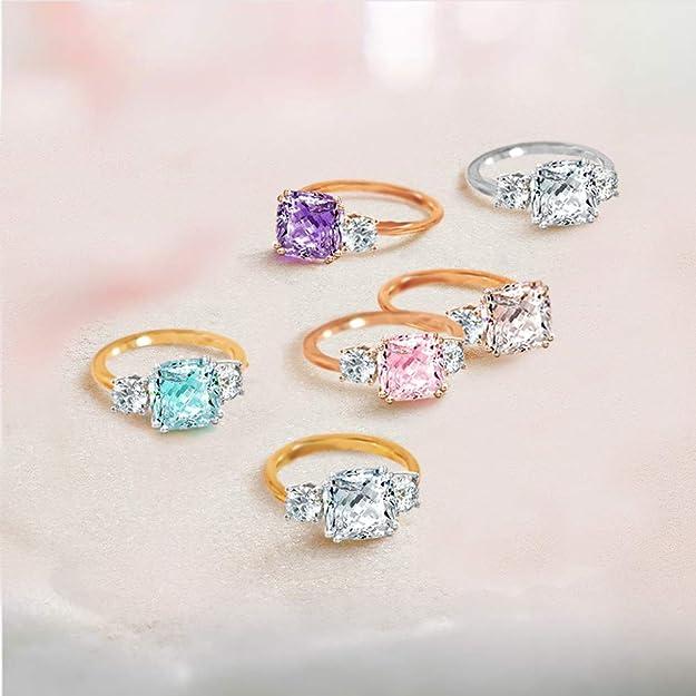 Amazon.com: Samie Collection Meghan Markle anillos de ...