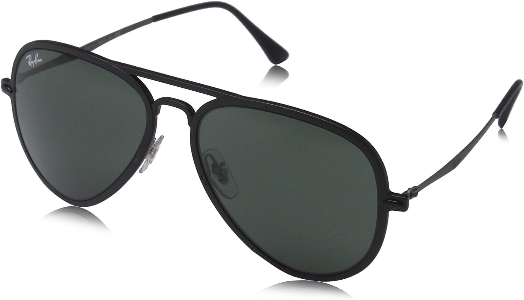 Ray-Ban Gafas de sol Aviator MATTE BLACK, 56: Amazon.es ...