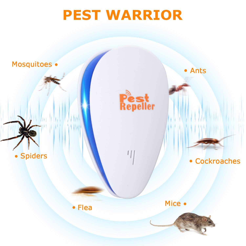 Qwesen 111 11111 Best Pest Control Ultrasonic Repellent Mosquito Killerelectric Killerinsect Killermosquito Se 1 Pack Garden Outdoor