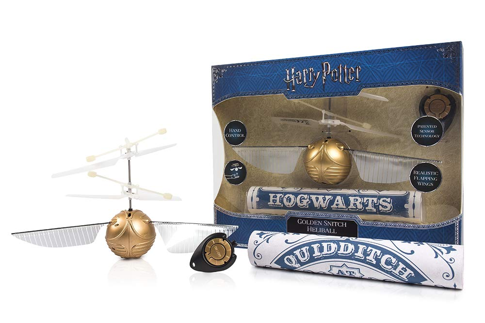Heliball Golden Snitch, para jugar al Quidditch como Harry Potter
