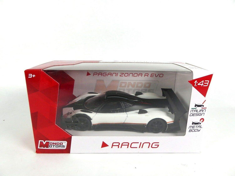 OPO 10 Lot de 2 Voitures 1//43 Porsche GT3 RS Pagani Zonda R Evo