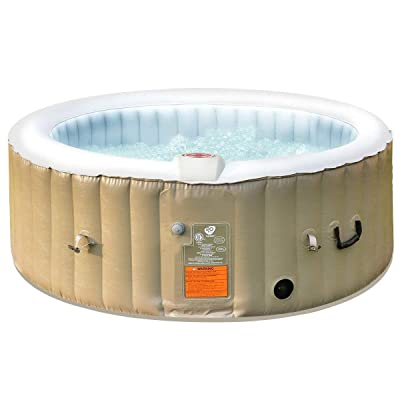 Goplus Outdoor Spa Hot Tub for Portable Jets Bubble Massage Relaxing